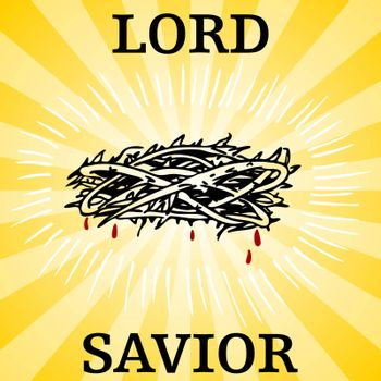 An image of a lord and savior thorn crown.