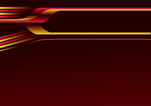 Vector backdrop in dark and glowing colors