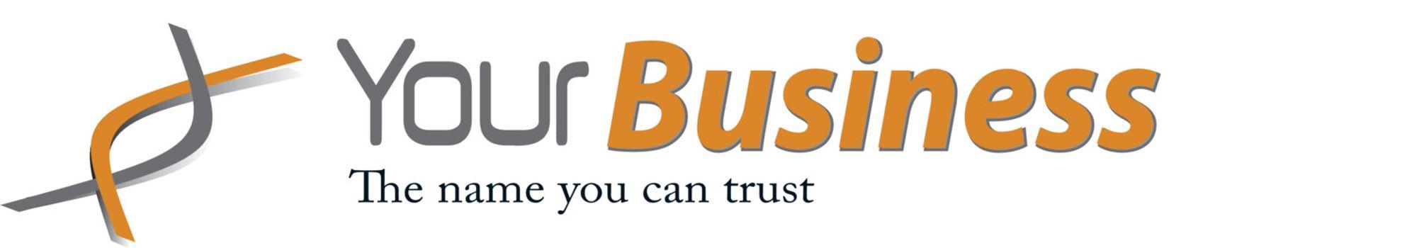 Business, corporation elegant logo, clean vector render.