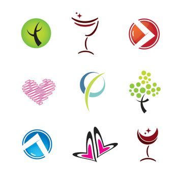 set of icons, vector illustration