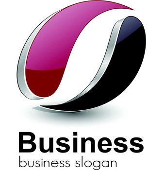 Logo design for business, vector.