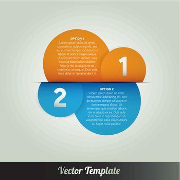 Template, vector eps10 illustration