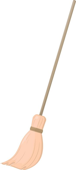 Broom. EPS10