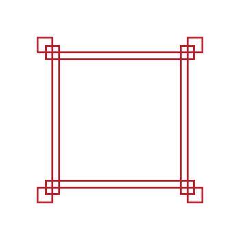 Borderline Chinese style vector design