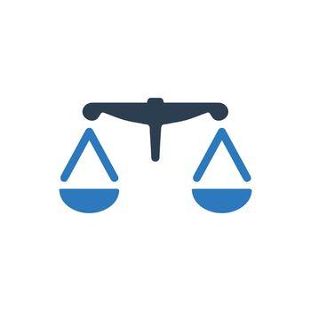 Balance icon. Vector EPS file.