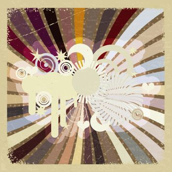 Vintage abstract background. eps10