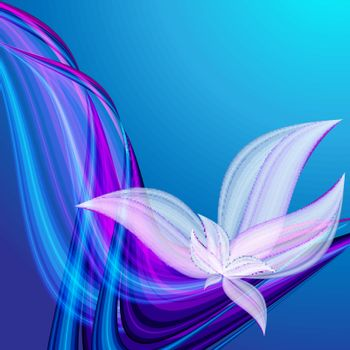 beautiful abstract floral vector background. Eps10