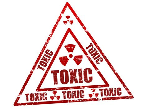 Toxic stamp