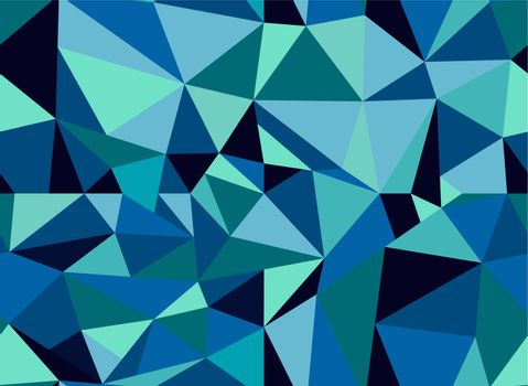 Trendy retro triangle composition seamless pattern. Vector file layered for easy manipulation and custom coloring.
