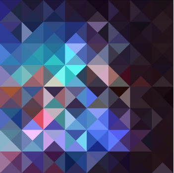 Trendy colorful vintage abstract triangle seamless pattern background.. Vector file layered for easy editing.