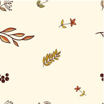 seaseamless autumn backgroundmless autumn background