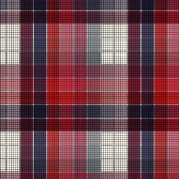 Plaid fabric texture, abstract background