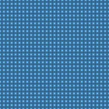 Seamless  squared background blue pattern