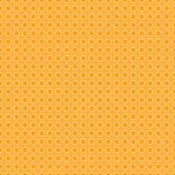 Seamless dotted background yellow pattern