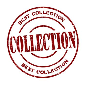 Collection grunge rubber stamp on white, vector illustration