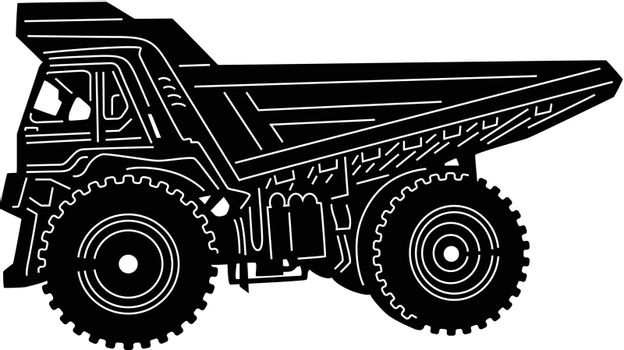 illustration of great Construction Equipments detailed
