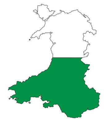 Outline of Wales
