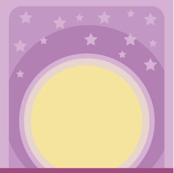 illustration of a wallpaper with stars