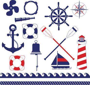 Nautical equipments element set