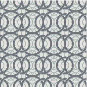 Vintage decor seamless pattern, geometric vector background.