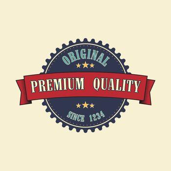 Retro style  badge, vintage collection. Premium quality.
