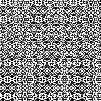 Abstract Geometric Ornaments. Decorative Retro Background. Ornamental Pattern