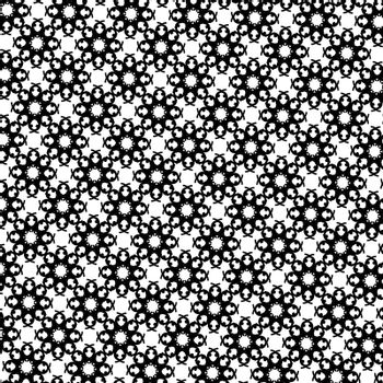 Decorative Ornamental Background. Abstract Geometric Retro Pattern