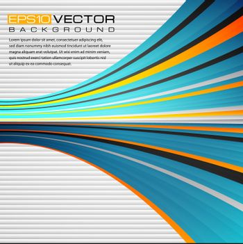 Vector illustration with a colorful abstract background.