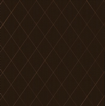 The stitch of a nylon fishnet stocking in brown