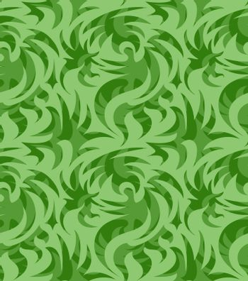 Abstract seamless thorny organic pattern. vector illustration