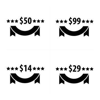 Price tags Set Set Design