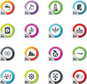 Fuel web icons for user interface design