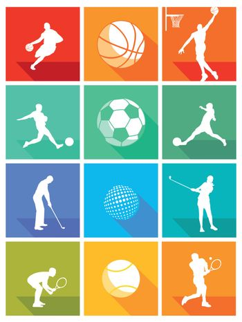 Sports equipment and athletes