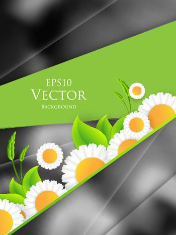 environmental vector background. Green colorful illustration. Elements for your design. Eps10