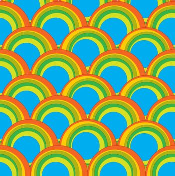 Decorative multicolored figures circle background.Colorful vector illustration
