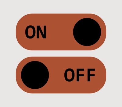 icon on off