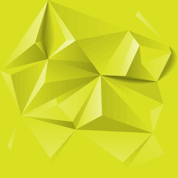 Abstract colorful geometric low poly background. Vector illustration.