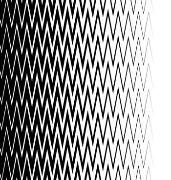 Edgy, pointed zigzag lines, jagged lines. Vertically seamless.