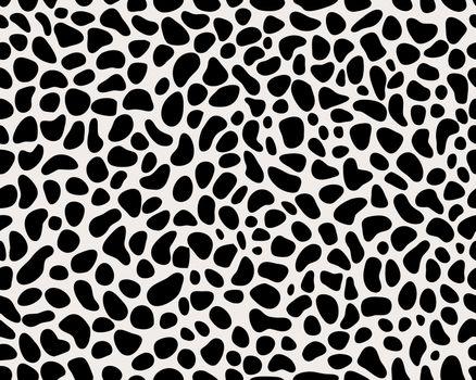 Seamless leopard repeat pattern, creative design templates