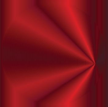 An abstract curtyn style red folded background