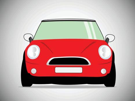 vector classic car. Vector Illustration