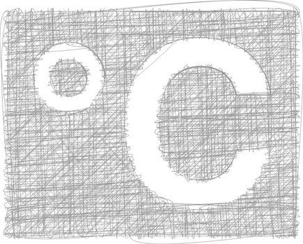 Celsius Freehand Symbol