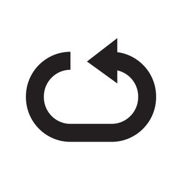 loop / reload / repeat / recycle icon