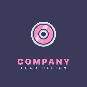 Letter O logo design template. Company logo icon