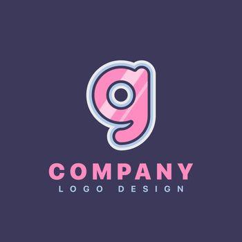 Letter G logo design template. Company logo icon
