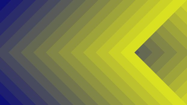 Blue and Yellow vector layout with squares or rhombus. Graphic abstract illustration for website, poster, banner ads.
