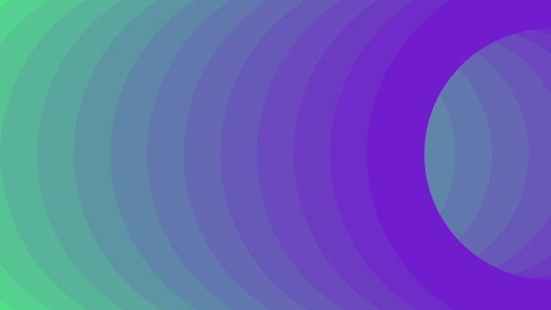 Mint and Violet vector template with rings. Futuristic abstract illustration for website, poster, banner ads.
