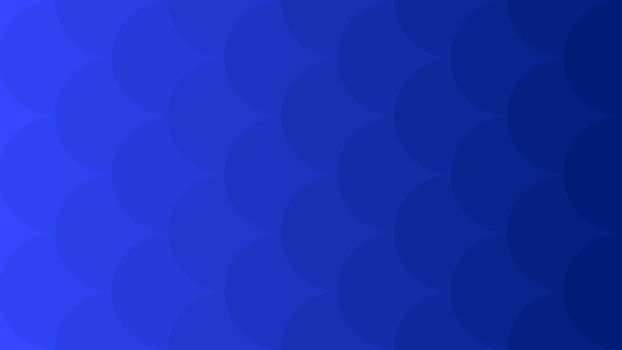 Light to Dark Blue vector background big circles. Minimal abstract illustration for website, poster, banner ads.