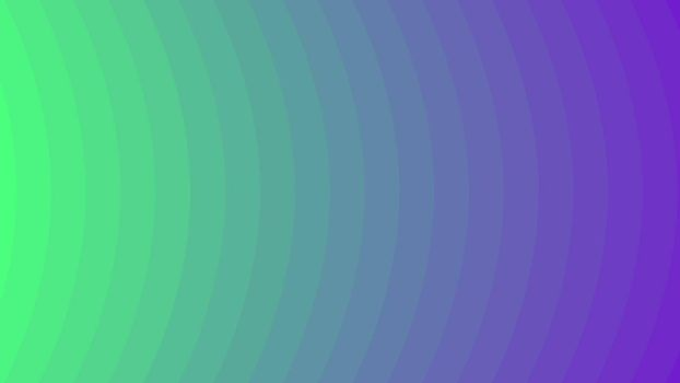 Green and Violet vector background with curved lines. Geometric abstract illustration for website, poster, banner ads.