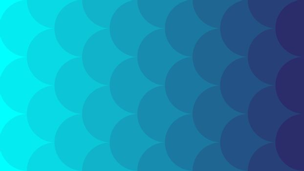 Cyan with Violet vector cover with big circles. Minimal abstract illustration for website, poster, banner ads.